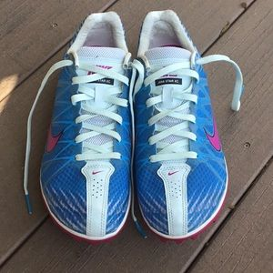 Nike Shoes - Nike spikes, like new condition. Size 8.5